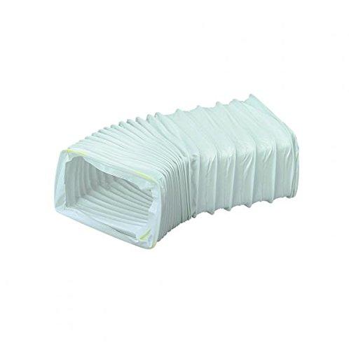 Primaflow 90021085 Ventilation PVC Rectangular Hose, White, 0.5 m PRIMAFLOW LTD