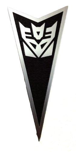 Pontiac Grand Prix 97-03 Front Badge Emblem Transformers Decepticon Black ()