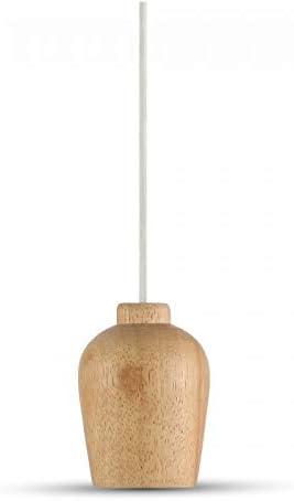 L/ámpara colgante de madera V-Tac Wooden Holder