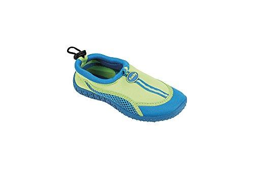 Fashy Aqua-Schuhe - Cerrado Niños Verde/Turchese