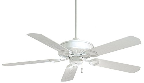 Minka-Aire F589-WH Minka Aire Outdoor Fan, White (Sundowner Outdoor Fan)