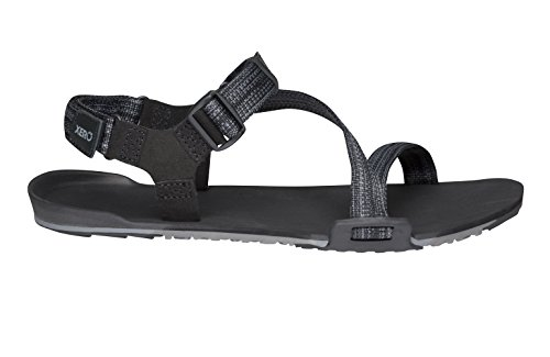 Image of Xero Shoes Z-Trail - Men's Lightweight Hiking and Running Sandal - Barefoot-Inspired Minimalist Trail Sport Sandals - Multi-Black