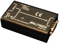 VP500100 HDMI to VGA Converter with Full HDCP by Altinex, Inc.