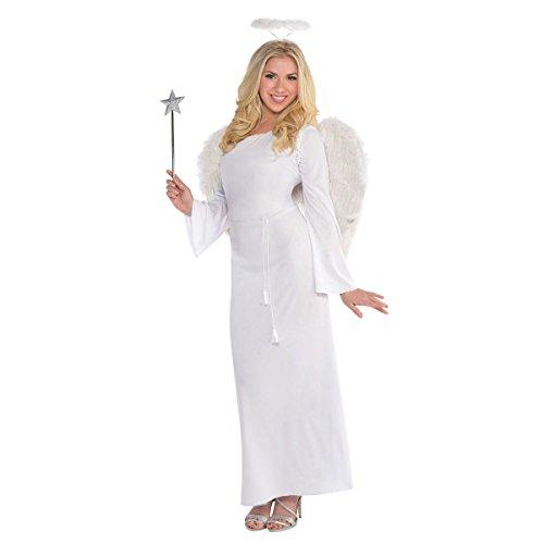 [Heaven Sent Angel Costume - Standard - Dress Size 6-8] (Heaven Costumes)