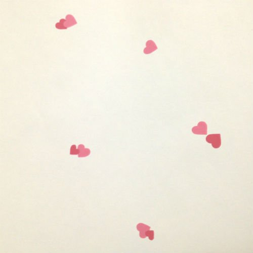 Cascading Hearts Wallpaper