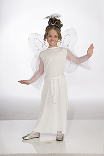 Forum Novelties Angel Costume, Child (Angel Makeup Costume)