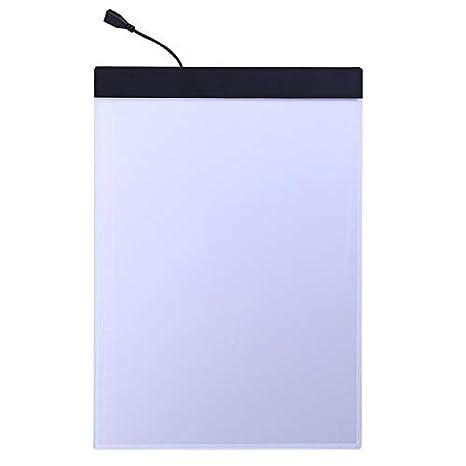 Caja de luz para dibujo, USB, A4, LED, para dibujar, copiar, A4 ...