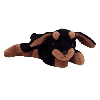 8d8bb92fc4b Amazon.com  Ty Beanie Babies - Doby the Doberman  Toys   Games