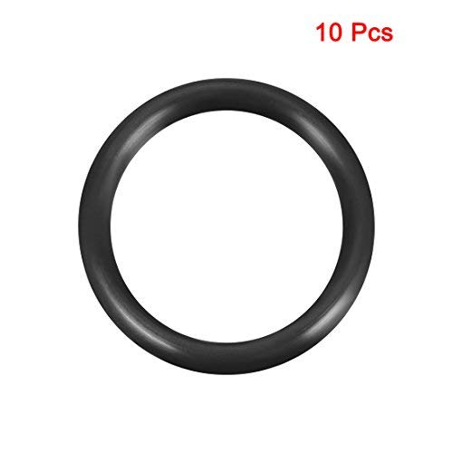 Outer Diameter 45 mm O-Rings Nitrile Rubber Round Seal Gasket Pack of 10 Width 5 mm Inner Diameter 35 mm