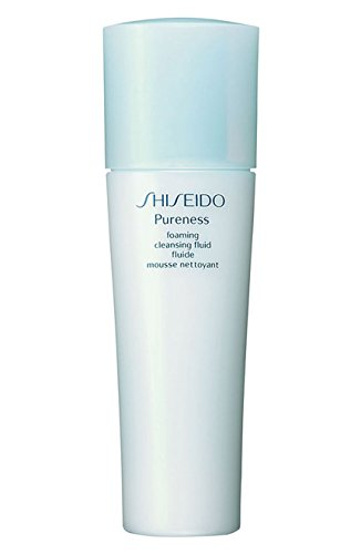 - Shiseido Pureness Foaming Cleansing Fluid Foam Cleanser for Unisex, 5 Ounce