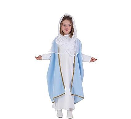 LLOPIS - Disfraz Infantil Virgen t-2: Amazon.es: Juguetes y juegos