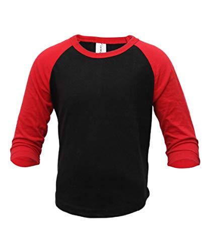 0282a46fe26 ILTEX Kids Baseball Raglan T-Shirt 3 4 Infant Toddler Youth (