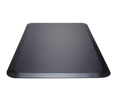 Guardian Pro Top Indoor Anti-Fatique Floor Mat, Rubber, 3'x5', Black