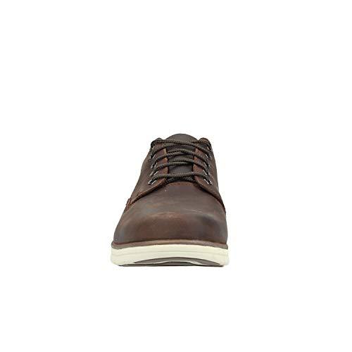 Zapatos de Timberland Cordones Oxford Marron Bradstreet Hombre para 81wqfAwn