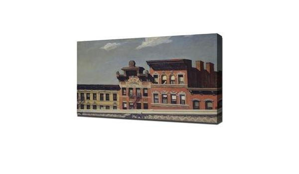 Edward Hopper From Williamsburg Bridge Giclee Poster Print