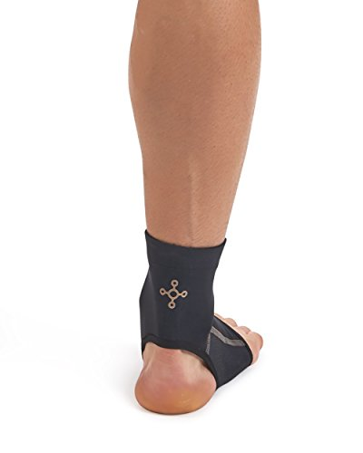 Tommie Copper Men's Performance Ankle Sleeves 2.0, Medium, Black by Tommie Copper (Image #4)