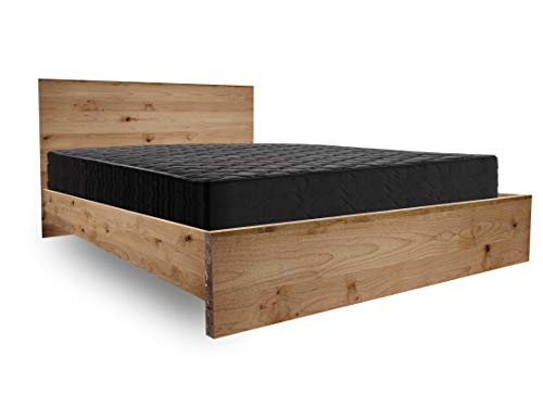 Wooden Platform Bed Frame and Headboard/Modern and Contemporary/Rustic and Reclaimed Style/Old World/Solid Wood