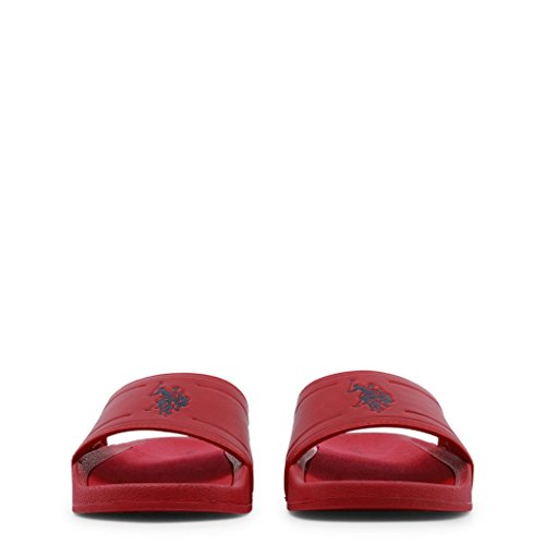 FUN2196S8 S Flip Polo POLO Men's Red U S Flop G1 ASSN U Shoe fZUqYU
