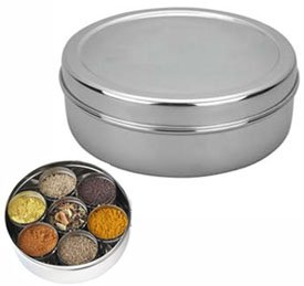 Philco Masala Dabba Spice Box - Stainless Steel
