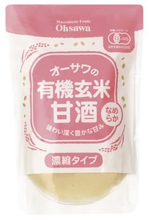 Osawa of organic brown rice sweet sake (smooth) 200g by Marukura