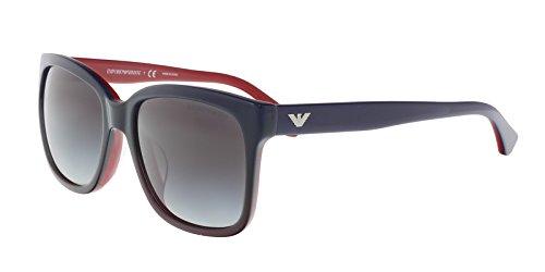 Emporio Armani EA4042 F 53478G Sunglasses Red/Blue - Armani Emporio Men Sunglasses