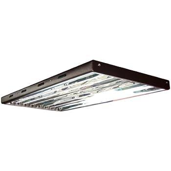Amazon.com: ViaVoltTM T5 HO Fluorescent Fixture, 4\' - 8 Lamp ...