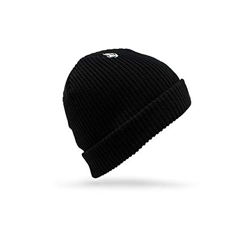 Volcom Beanie Winter (Volcom Men's Full Stone Beanie, Black, One Size)