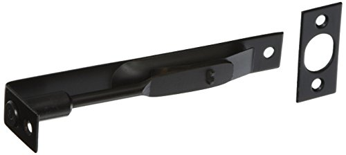 Flush Mounted Door Bolt In Oil-Rubbed Bronze. Door Slide Lock. - Flush Bolts Doors
