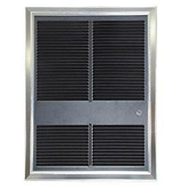 - TPI Commercial Fan Forced Wall Heater With Tamperproof Thermostat, 4000/3000W 240/208V
