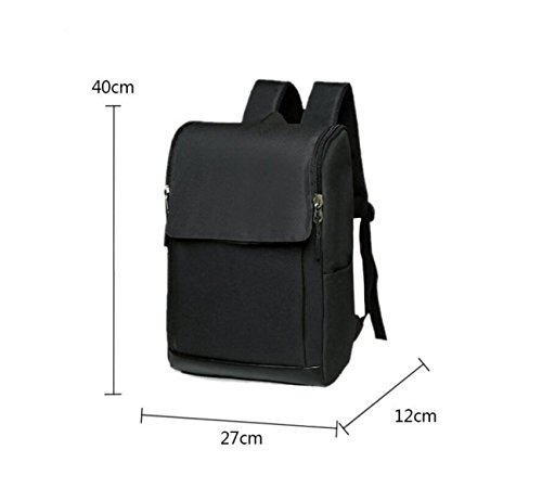 Black Earthquake Bags Laptop Business Outdoors Travel Student Yp7OR
