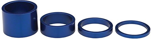 Chris King spare parts Headset Spacer Kit 1 1/8 inch blue by Chris King
