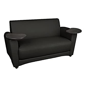Amazon.com: learniture lnt-17bkt-pk-so zona común sofá con ...