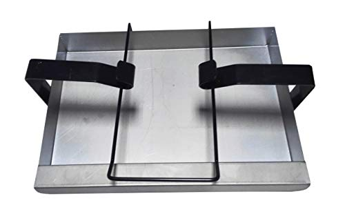 - soldbbq Catch Pan and Holder Replace Part for Weber Gas Grills (Compatible with Part #7515)