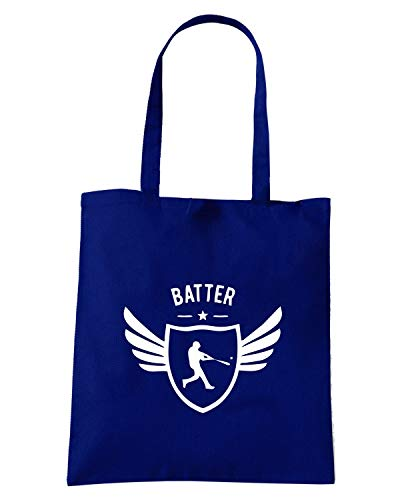 WINGED Blu SP0037 Speed Navy Shopper BATTER STAR Shirt Borsa rqwtvtz401