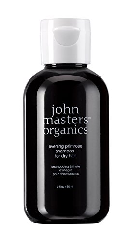 John Masters Organics - Evening Primrose Shampoo for Dry, Thinning, and Color Treated Hair - Natural Ingredients Sulfate Free - 2 oz (Shampoo Primrose Daily)