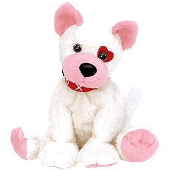 Valentine's Day stuffed dog - Ty Beanie Babies - Cupid the Valentines Dog