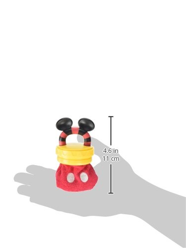 Disney Mickey Mouse Terry Teether with Handle, Red by Disney (Image #2)