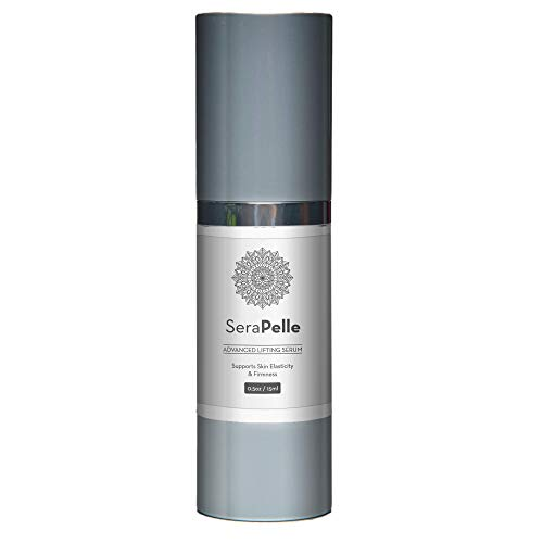 SeraPelle Advanced Lifting Serum 15ml 0.5oz Support Skin Elasticity and Firmness- Even Complexion and Brighten Overall Skintone