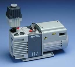 Vacuum pump with exhaust filter, 117 L/min. - 7739400 - EACH