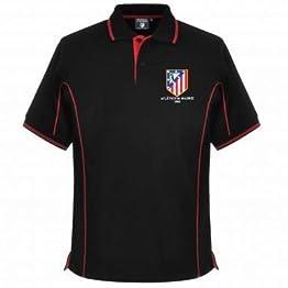 Polo pour homme officiel de l'Atletico Madrid Crest