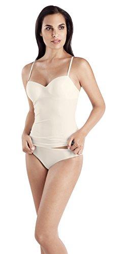 (HANRO Women's Allure Bra Camisole 71462, Off White, 34 C)