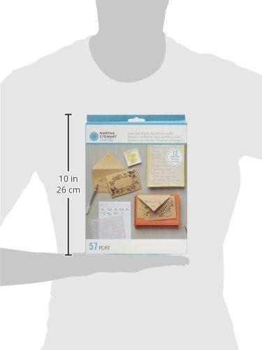 Amazon.com: Martha Stewart Calligraphy Hand Lettering Kit