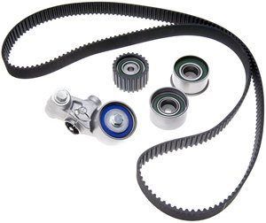 (ACDelco TCK304 Professional Timing Belt Kit with Tensioner and 3 Idler Pulleys)