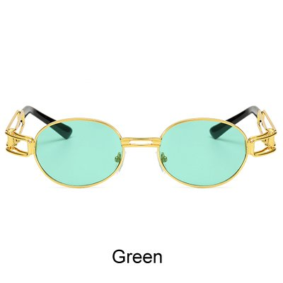 70f713676f BuyWorld Ralferty 2017 Retro Small Round Sunglasses Men Male Vintage  Steampunk Sunglass Women Hip Hop Gold Glasses Eyewear UV400 Lunette  Amazon. in  Home   ...