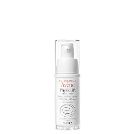 AVENE PHYSIOLIFT EYES Smooths wrinkles and firms the delicate skin around the eye area 15 ml Made in France Pierre Fabre Ltd