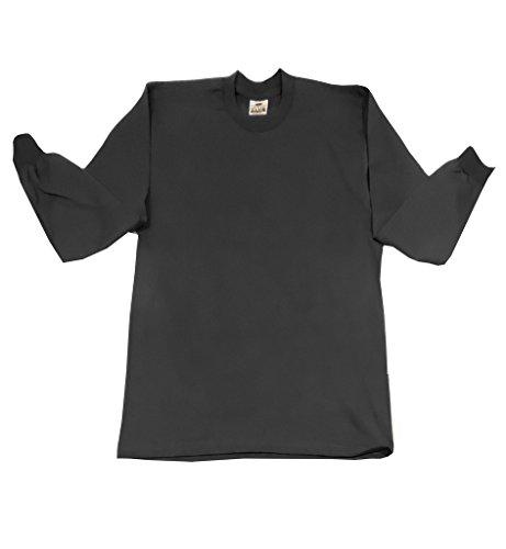 (Pro club Heavyweight 100%cotton Long Sleeve T Shirt Reguler Large Black)