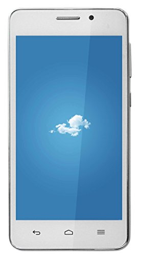 Ginger Star 4.7 inch Android Lolipop 3G Mobile in White Colour