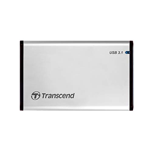 Transcend StoreJet USB 3.0 External Hard Drive Enclosure