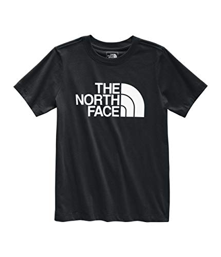 The North Face Women's Short Sleeve Half Dome Tee, TNF Black/TNF White, L