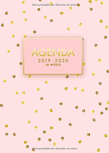 Agenda 2019/2020 | 18 meses: Agenda Semanal Mensual Diario ...